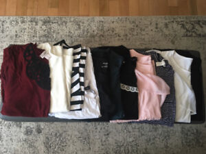 Maternity Tops and Tees (M-L)