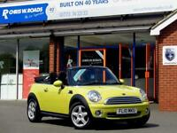 2010 10 MINI CONVERTIBLE 1.6 COOPER 2DR *HALF LEATHER*