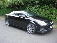 Vauxhall/Opel Astra 1.8 Twin Top Exclusiv Black 1 Owner, 29000 Miles