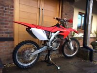 2007 Crf250 Twin pipe road legal