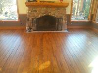 Install, Sand & Finish Hardwood Floors & Stairs.