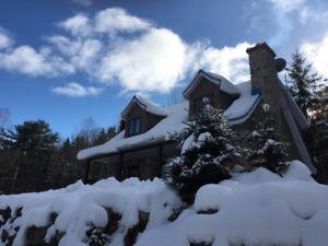 CHALET À LOUER *** Spécial des fêtes ***20mn Ski Val St-Côme