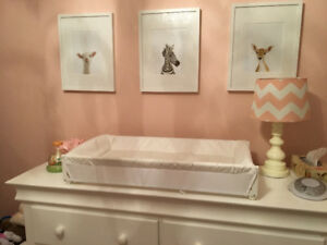 Baby Change Table for Top of Dresser