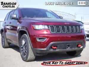 2017 Jeep Grand Cherokee Trailhawk - Navigation