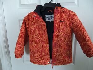 Girls Hooded Jacket, Size 6 (fits 6-8)
