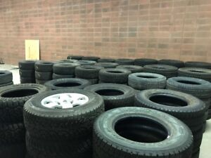 """""""New"""" and Used Fleet Tire Sale - Multiple brands and sizes avail"""