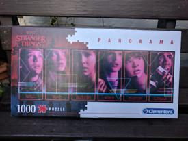 2 x STRANGER THINGS Jigsaws