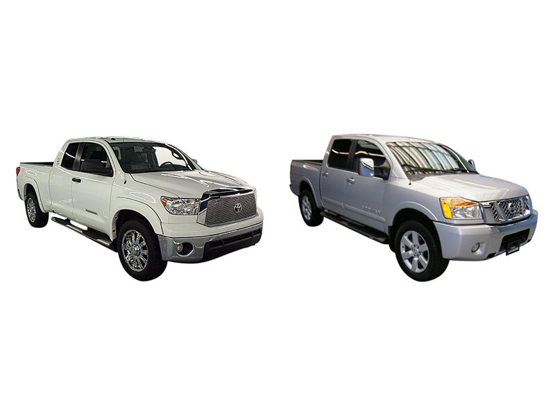 2012 toyota tundra vs 2012 nissan titan ebay. Black Bedroom Furniture Sets. Home Design Ideas