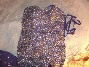 Rhinestone prom dress Kitchener / Waterloo Kitchener Area image 2