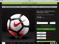 Nike Strike Football size 3