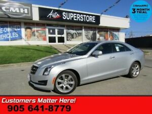 2015 Cadillac ATS 2.0 Turbo Luxury  AWD LEATHER CAM BOSE HS BT M