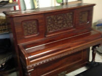 PIANO DROIT MARSHALL & WENDELL (FAITES UNE OFFRE)