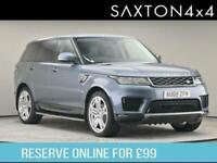 2018 Land Rover Range Rover Sport 3.0 SD V6 HSE Auto 4WD (s/s) 5dr SUV Diesel Au