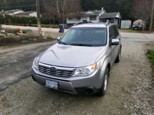 Subaru forester x 2.5 AWD ready for winter