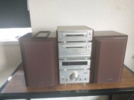 Technics HD51 SYSTEM WITH SPEAKERS AND BLUETOOTH ADAPTER