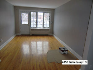 Luxurious 6 1/2 Fully Renovated - 3 Big Rooms + 2 New Terraces