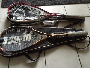 PRINCE Squash Raquets