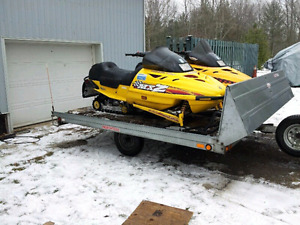 Snowmobile package deal