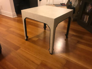 Restoration Hardware Xian Square Side Table