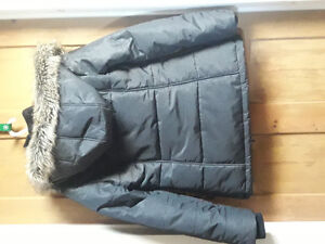 Double zip winter jacket