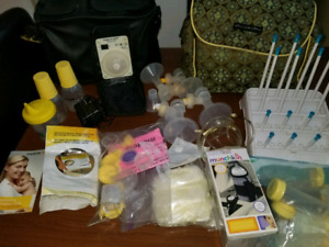 Medela pump in style Double avec accessories