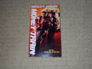 MONEY TRAIN, VHS MOVIE, EXCELLENT CONDITION