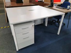 New Home Office Bench Desks, huge Glasgow Showroom