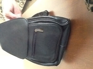 Small Black Backpack Style Purse