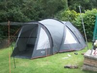 Gelert cyclone 6 family tent very large