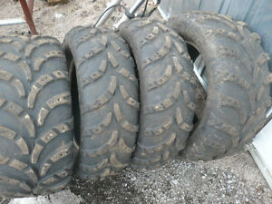 Four  Carlise 14 in atv tires  $200.00