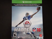 Madden 16 Digital Game Code for Only $40!
