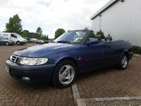 Saab 9-3 2.0T Auto Cabriolet Left Hand Drive(LHD)