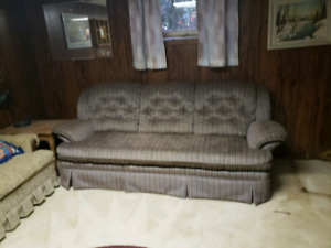 Vintage Grey Couch