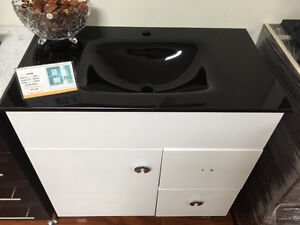 modern style vanity clearance, $ 366