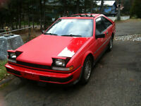 Nissan 200sx Turbo 1986 5 speed over drive.
