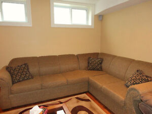 Sectional Sofa Bed in Excellent Condition