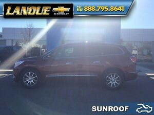 2015 Buick Enclave Leather  GM EMPLOYEE TRADE IN-AWD-SUNROOF-LOW