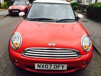 2007**Mini Cooper 1.6..60k Miles ...Very long MOT 2017 No Advisory..Full Serviced...1 Owner* £3450