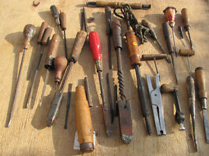 ASSORTMENT of OLD TOOLS