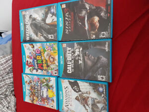 Looking to trade my games wii u