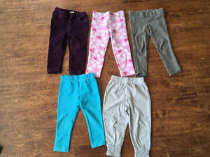 Very cute girls 2T size Jeans and Pants for $25 Oakville / Halton Region Toronto (GTA) image 2