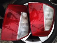 Pair of rear light cluster off Audi A4 2002