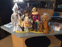 Wizard of Oz Collector Doll Set of 4 by Mary Tretter. 1 Brand T