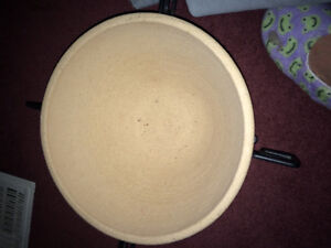 Clay bowl with stand!