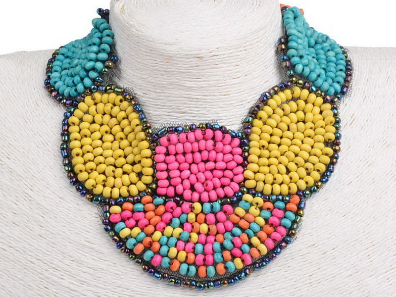 How to Make a Beaded Collar Necklace | eBay
