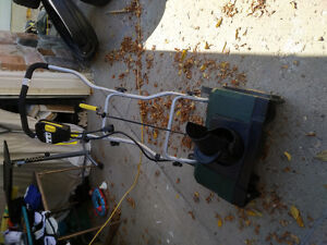 "Yardworks 16"" Electric Snow Shovel - Used Twice!"