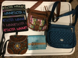 Lovely purses and wallets for sale!!!