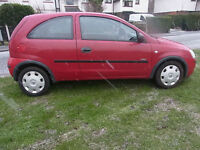 Vauxhall Corsa 1.2i 16v 2005 Life 12 months mot PX Swap Anything considered