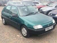 1997/P Citroen Saxo 1.5D SX LONG MOT EXCELLENT RUNNER