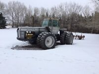 White 4210 4WD Tractor